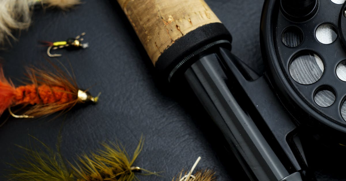 used fly fishing gear